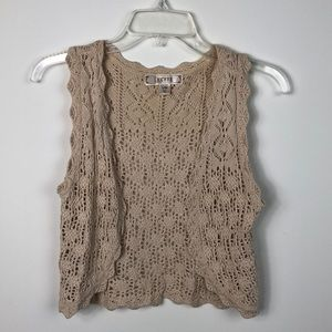 Decree Crochet Vest